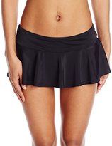 Coco Rave Women's Keep It Cute ) Cary Skirted Bikini Bottom