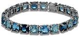 David Yurman 7mm Châtelaine® Linear Blue Topaz Bracelet with Diamonds