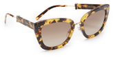 Marc Jacobs Metal Bridge Sunglasses