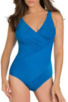 Miraclesuit Oceanus DD Shaping Surplice One-Piece Swimsuit