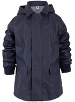 Petit Bateau Navy Hooded Raincoat