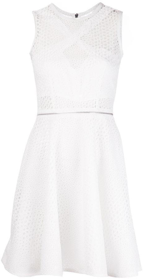 Yigal Azrouel fit and flare dress
