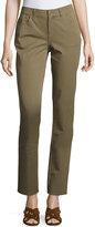 Lafayette 148 New York Skinny Denim Jeans, Sage
