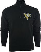 '47 Men's Pittsburgh Penguins Cross Check Quarter-Zip Pullover