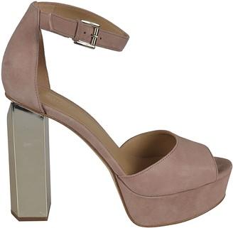 MICHAEL Michael Kors Ankle-strap Block Heel Sandals