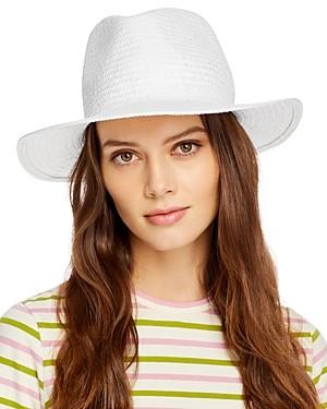 Hat Attack Port Straw Fedora Hat