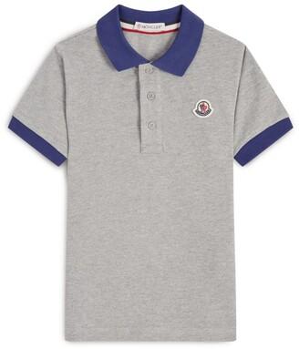 Moncler Kids Cotton Polo Shirt (8-10 Years)