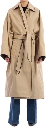 Balenciaga Belted Trench Coat