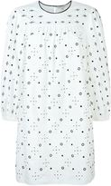 Marc Jacobs eyelet shift dress