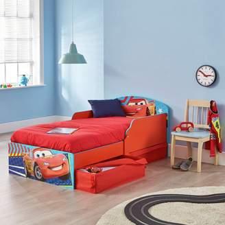 Disney Toddler Bed, Drawers & Mattress