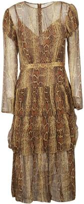 Zimmermann Ninety-six Fluted Dress