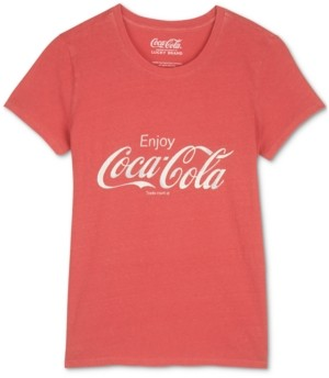 Lucky Brand Enjoy Coca-Cola Graphic T-Shirt