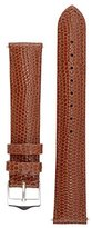 Signature Dragon watch band. Replacement watch strap. Genuine leather. Silver Buckle