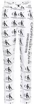 Calvin Klein Jeans Est. 1978 Printed high-rise straight jeans
