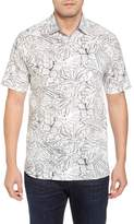 Tommy Bahama Sarasota Sketch Print Camp Shirt