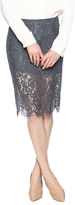 Chaser Lace Pencil Skirt