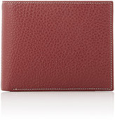 Barneys New York Men's Contrast-Topstitched Billfold-RED