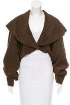 Alaia Textured Oversize Jacket