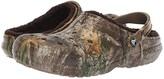 Crocs Classic Lined Realtree Edge Clog (Chocolate/Chocolate) Clog Shoes