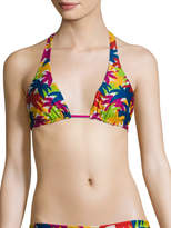 Basta Surf Women's Straddie Reversible Halter Bikini Top