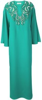Emilio Pucci Jade Green Embellished Evening Dress