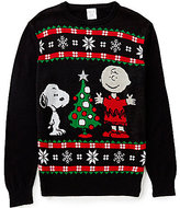 Peanuts Peanut's Charlie Brown and Snoopy Light Up Christmas Sweater