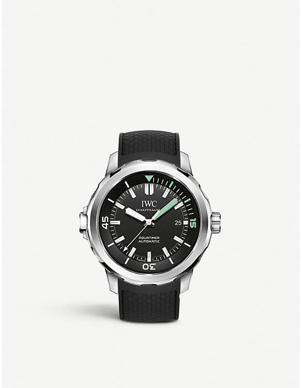 IWC IW329001 aquatimer stainless steel watch