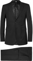 Burberry Black Slim-Fit Wool Suit