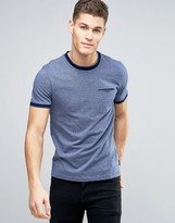Ted Baker T-shirt With Contrast In Texture