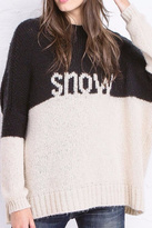 Wooden Ships Snow Pullover Sweater