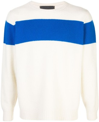 The Elder Statesman Panel Jumper