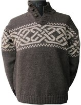Carraigdonn Carraig Donn Mens Celtic Wool Sweater