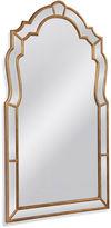 Bassett Mirror Julie Floor Mirror, Antiqued Gold Leaf