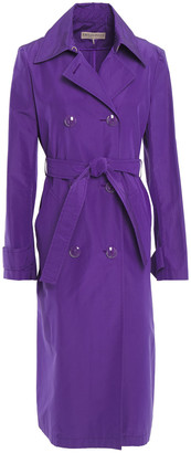 Emilio Pucci Silk And Cotton-blend Trench Coat