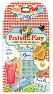 Eeboo Pretend Play Building Imaginations - Best Pals' Diner