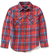 Ralph Lauren Big Boys 8-20 Plaid Work Shirt
