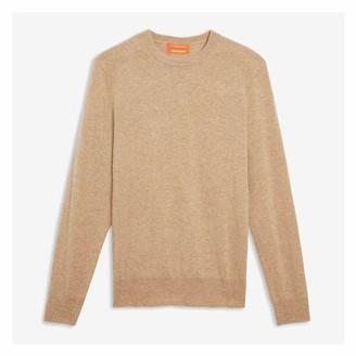 Joe Fresh Men's Cashmere Crew Neck Sweater, Light Grey Mix (Size XS)