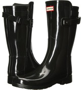 Hunter Original Refined Back Strap Short Women's Rain Boots