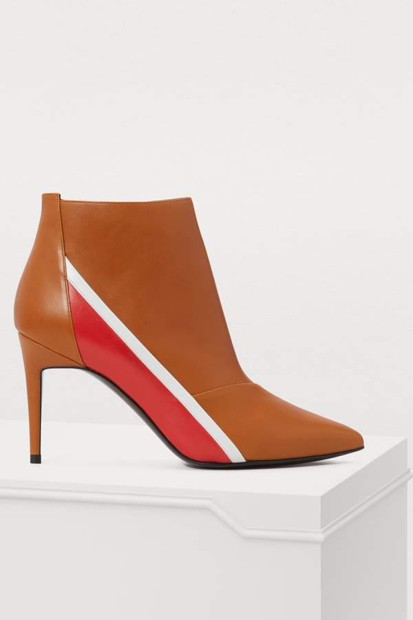 3248b12cae2e3 Alpha high-heeled ankle boots