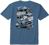 """Newport Blue Men's Still Plays With Cars"""" Tee"""