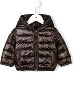 MonnaLisa padded hooded jacket