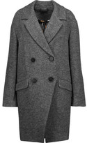 Diane von Furstenberg Finola Double-Breasted Wool Coat