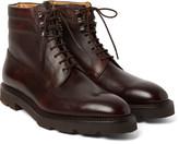 John Lobb - Alder Pannelled Leather Boots