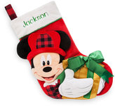 Disney Mickey Mouse Plush Holiday Stocking - Personalizable