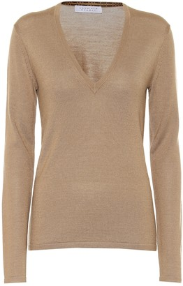 Gabriela Hearst Marian cashmere and silk sweater