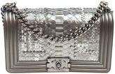Chanel Boy python handbag