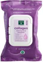 Earth Therapeutics 30-ct. Collagen Cleansing & Makeup Removing Facial Towelettes
