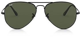 Ray-Ban Men's Aviator Sunglasses, 62mm