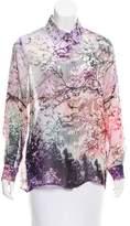 Mary Katrantzou Silk Abstract Print Top