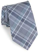 John Varvatos Plaid Silk Tie